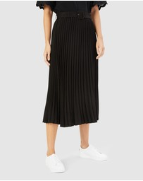 French Connection - Pleated Midi Skirt