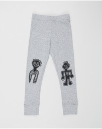 Nununu - Tribal Dancers Leggings - Kids