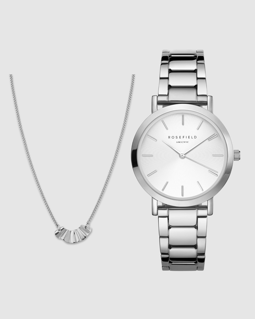 Rosefield The Tribeca Set Watches Silver