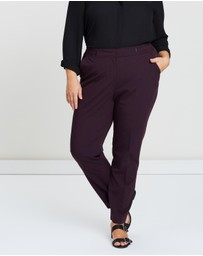 EVANS - Bar Tab Tapered Trousers