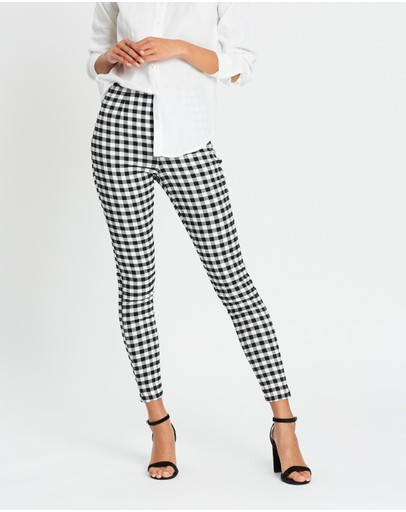 Atmos&Here - Valerie Gingham Pants