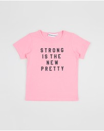 Gardner and the Gang - The Cool Strong Is The New Pretty Tee - Kids