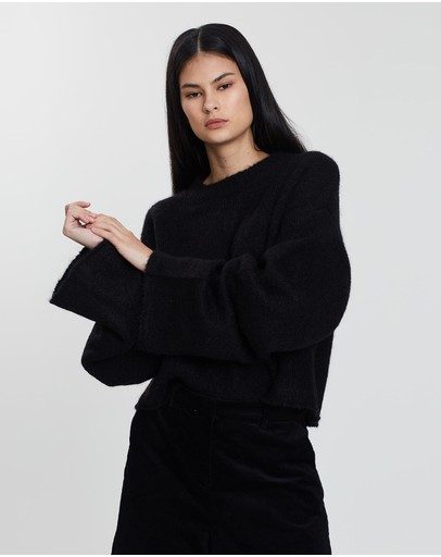 Grace Willow Lila Sweater Black