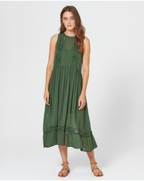 Auguste The Label - Margot Wren Midi Dress