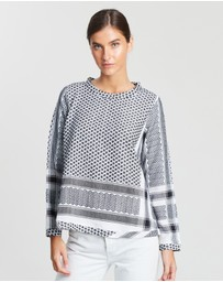 Cecilie Copenhagen - Shirt, O, Long Sleeves