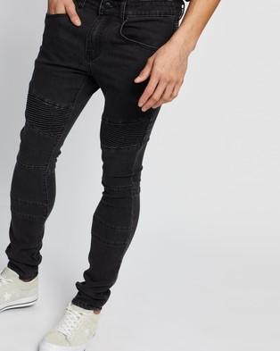 Commune Denim Jeans - Jeans (Black)
