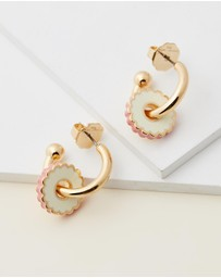 The Marc Jacobs - The Medallion Hoops
