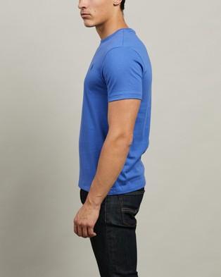 Polo Ralph Lauren - ICONIC EXCLUSIVE   Short Sleeve T Shirt - T-Shirts & Singlets (Indigo Sky) ICONIC EXCLUSIVE - Short Sleeve T-Shirt