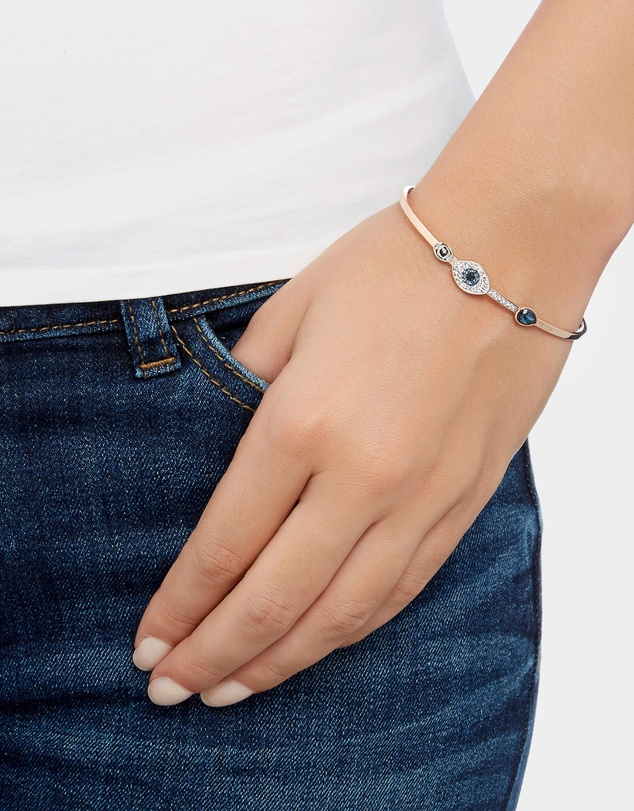 Swarovski - Duo Evil Eye Bangle