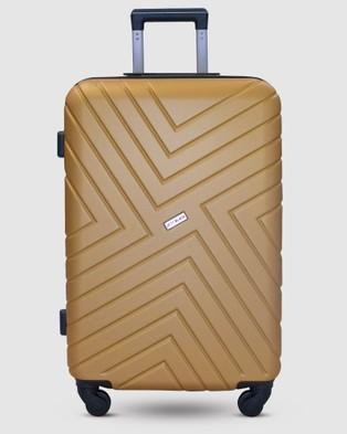 Australia JETT BLACK Sahara Maze Short Stay Luggage Set - Travel and Luggage (Gold)