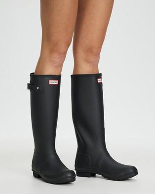 Hunter Original Tall Wellington Boots   Women's - Boots (Black)