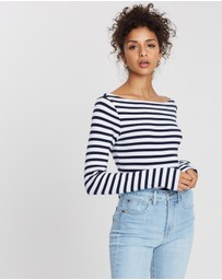 Gap - Long Sleeve Modern Boat Tee