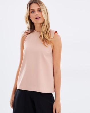 Cooper St – Sabine Top – Tops (Pink)