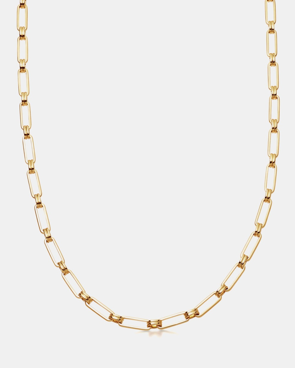 Missoma Aegis Chain Jewellery 18ct Gold Plated on Brass