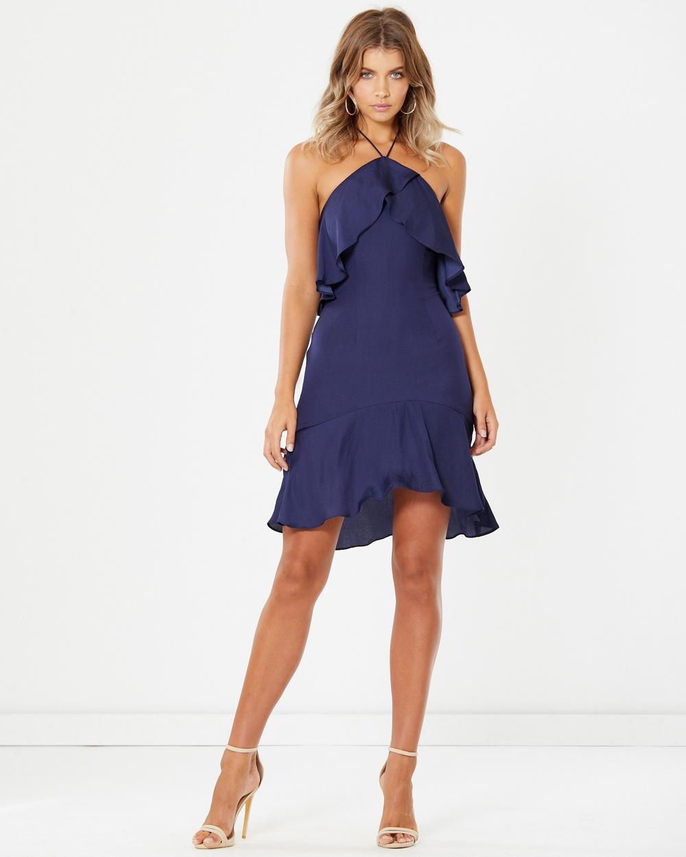 Tussah Erin Dress Dresses Navy Erin Dress