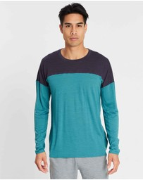 Icebreaker - Cool-Lite™ Kinetica Long Sleeve Crewe - Men's