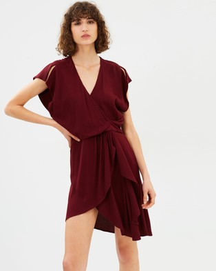 IRO – Tralor Dress Burgundy