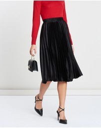 Atmos&Here - Pleated Midi Skirt