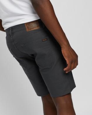 Volcom Solver Canvas 5 Pocket Shorts - Chino Shorts (Stealth)