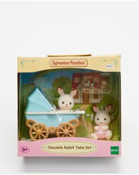 Sylvanian Families - Chocolate Rabbit Twins Set - Kids