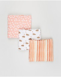 Aden & Anais - Flock Together 3-Pack Classic Swaddles - Babies