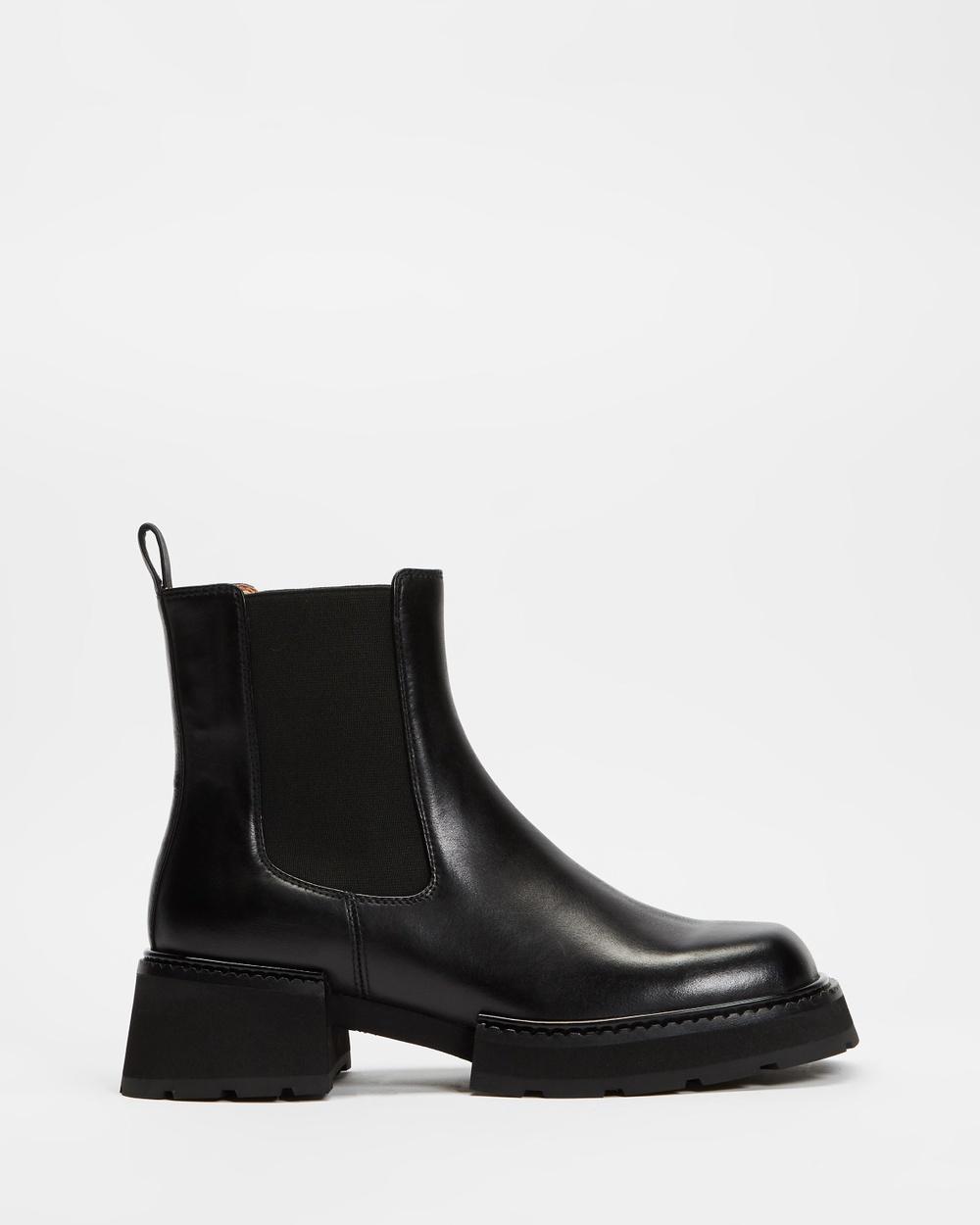 Alias Mae Ciara Boots Black Burnished