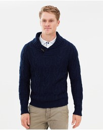 North Sails - Shawl Collar Fisherman Knit