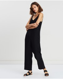 Assembly Label - Wide Leg Jumpsuit