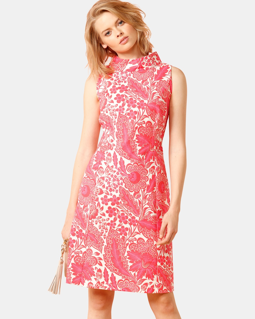 SACHA DRAKE Pink Ladies Pavillion Dress