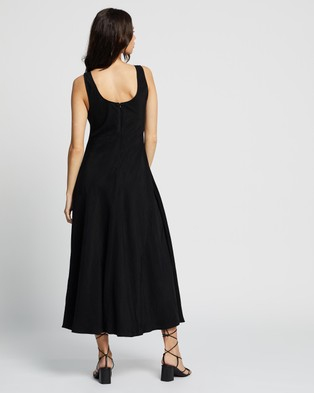 Assembly Label Ivy Scoop Neck Dress - Dresses (Black)