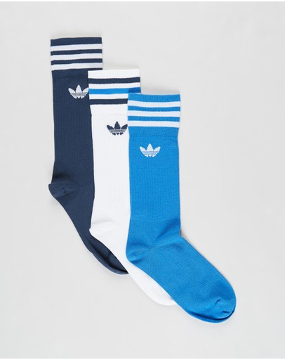 adidas Originals - Solid Crew Socks 3-Pack