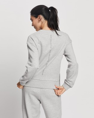 Elka Collective Trademark Crew - Sweats (Light Grey Marle)