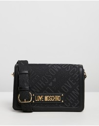 LOVE MOSCHINO - Logo Jacquard Bag