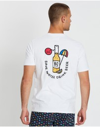 Barney Cools - Drink Champagne Tee