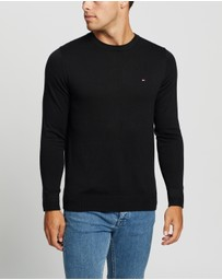 Tommy Hilfiger - Core Cotton-Silk Crew-Neck Sweater