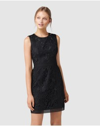 Forever New - Callista Lace Trim Dress