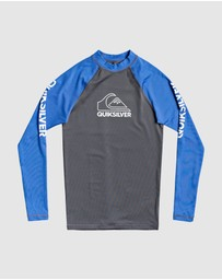 Quiksilver - Boys 8-16 On Tour Long Sleeve UPF 50 Rash Vest