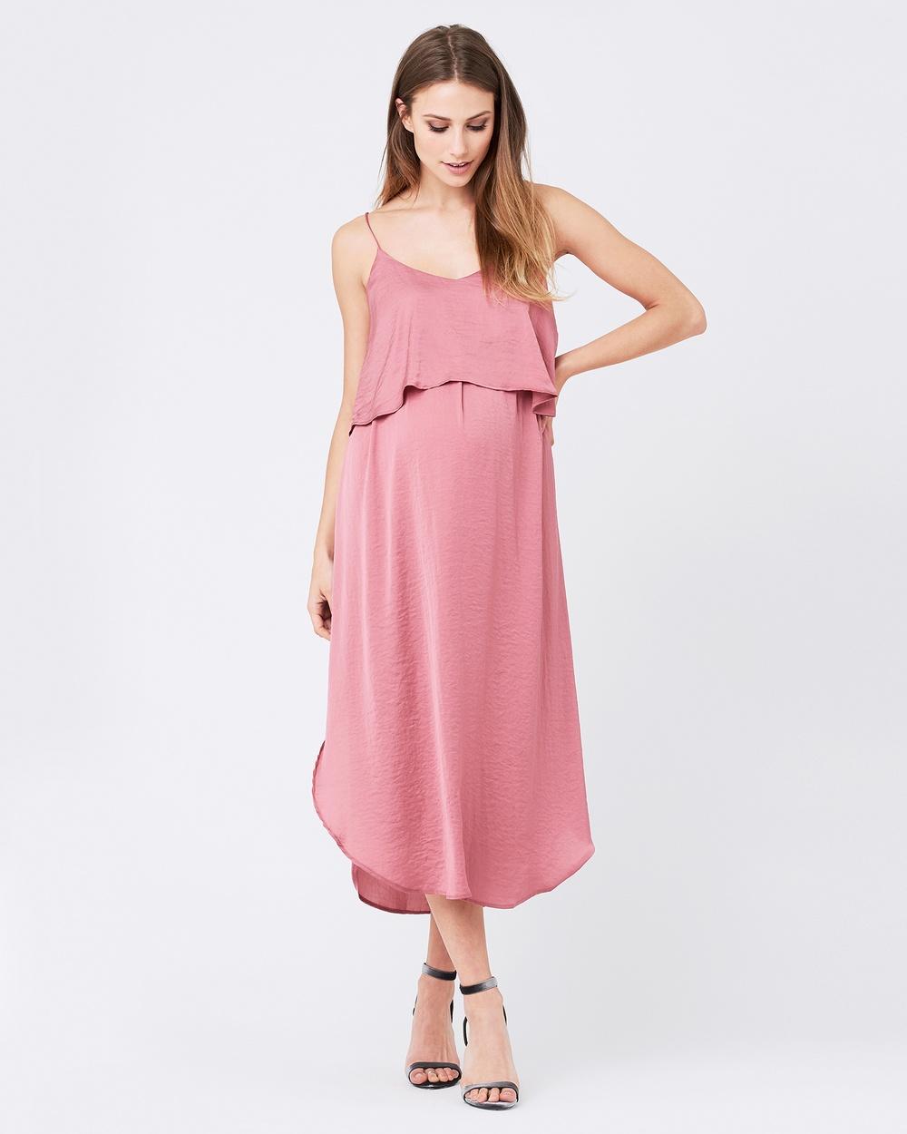 Ripe Maternity Nursing Slip Dress Dresses Rose Nursing Slip Dress