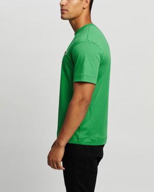 Lacoste - Exclusive   Unisex Jersey T Shirt - T-Shirts & Singlets (Chervil) Exclusive - Unisex Jersey T-Shirt