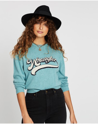 Wrangler Bailey Sweater Mineral Blue