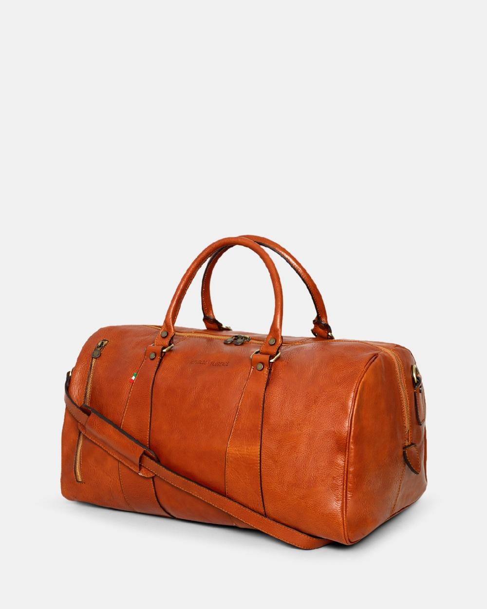 Republic of Florence The Nardi Duffle Bags Tan