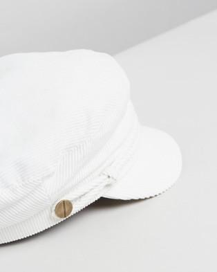 Ace Of Something Arya Cap - Hats (White)