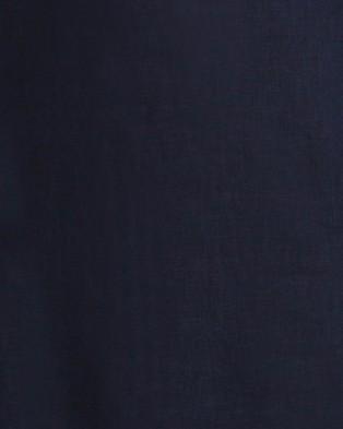 Aqua Blu Australia Serenity Linen Pant - Pants (Navy)