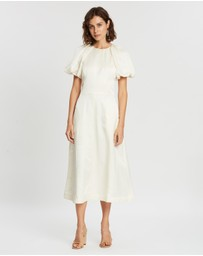 Rebecca Vallance - Aimee Short Sleeve Midi Dress