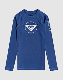 Roxy - Girls 8-14 Beach Classics Long Sleeve UPF 50 Rash Vest