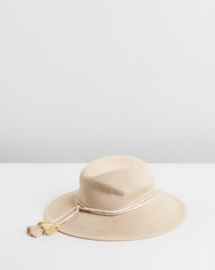 Seafolly Collapsible Fedora - Hats (Gold)
