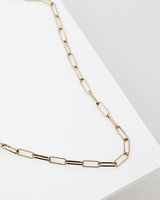 Icon Brand Realm Necklace - Jewellery (Gold)