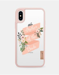 Casetify - Mother of the Bride Floral Classic Grip Case for iPhone XS/ iPhone X