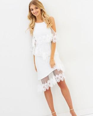 Elliatt – Tempo Dress White