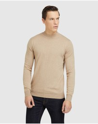 Oxford - Bart Funnel Neck Knit
